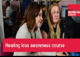 Hearing loss awareness course