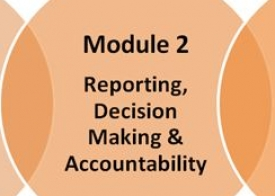 Module 2: Reporting, decision making & accountability (self-access)